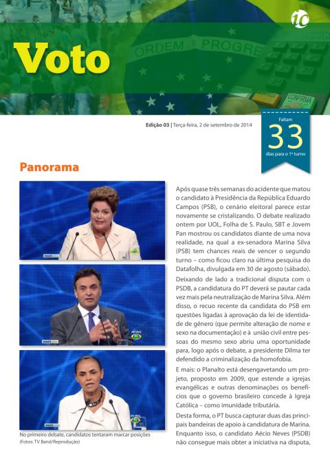 Voting #3 - Elections in Brazil 2014