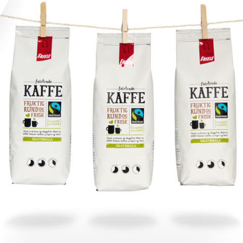 Friele Fairtrade redesign