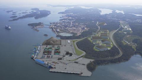Stockholm Norvik hamn