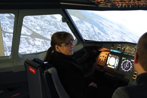 Staatssekretärin Katrin Lange zu Arbeitsbesuch an der TH Wildau