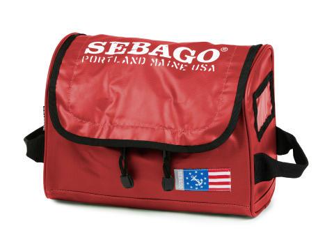 Sebago Wash Bag Red