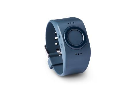 Tinitell wrist phone in colour indigo