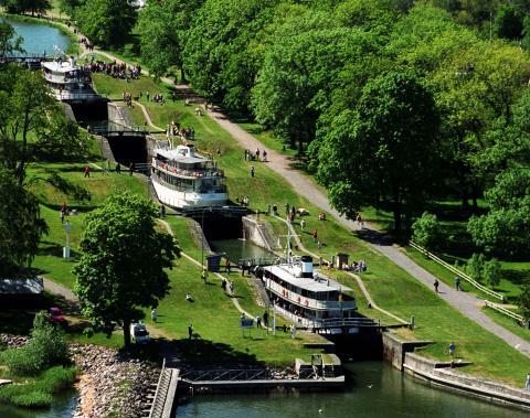 Rekordmånga kanalkryssningar i Linköping!
