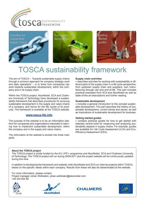 TOSCA-leaflet