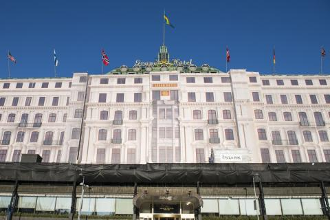 Grand Hotel fasadrenovering