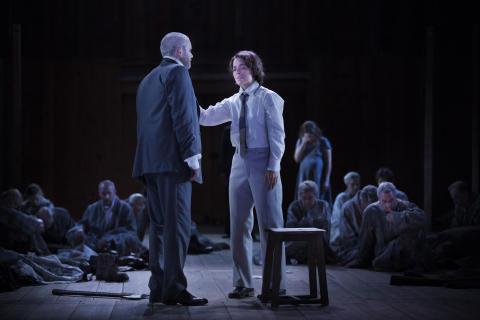 Idomeneo på Drottningholm: Jonas Degerfeldt - Idomeneo, Katija Dragojevic - Idamante