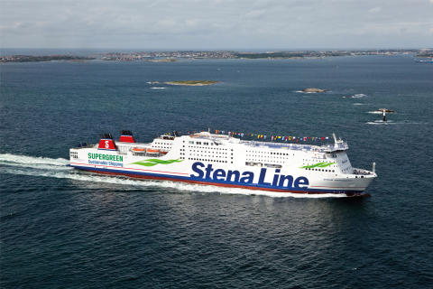 Stena Germanica sticht ab sofort mit Methanol in See