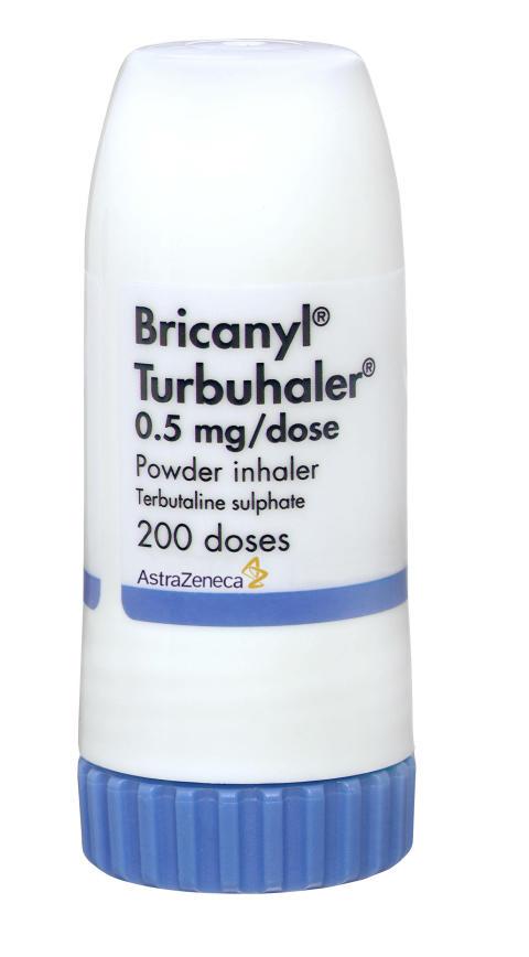 Bricanyl Turbuhaler (terbutalin)