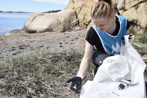 Gästrike återvinnare räddar havet från skräp