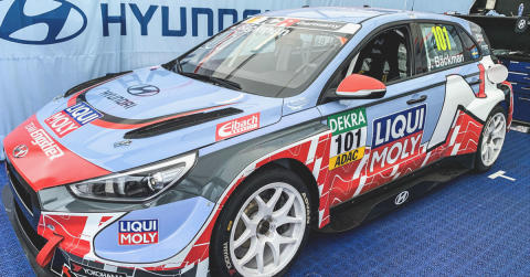 Tough challenge for Jessica Backman in TCR Germany