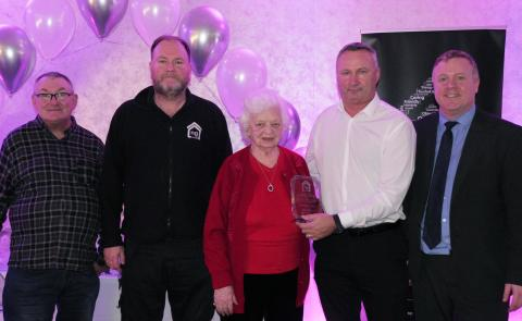 North Glasgow community leads the way in Climate Change at Awards Ceremony