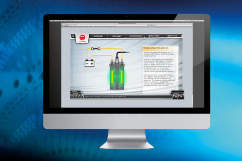 NGK inkluderer coiler i sin e-learning