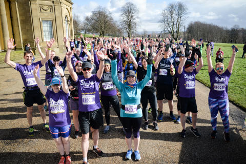 Manchester runners join the resolution for the Stroke Association