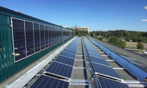 Ebab byggleder Stockholmssjukhusens solcellsprojekt