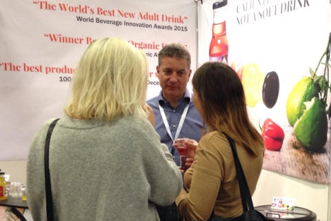 Great interest for Caliente at the largest Fast Food & Café Fair of the Nordics