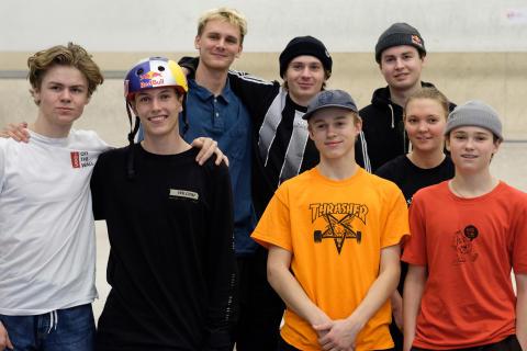 Første norske skateboardlandslag