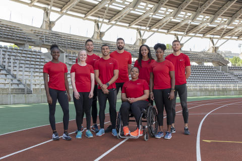 Müller athletics squad