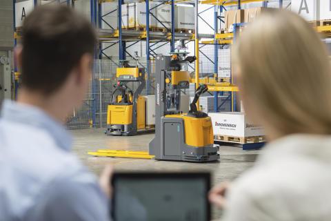 Nya lagerlösningar från Jungheinrich: Nu med SAP EWM