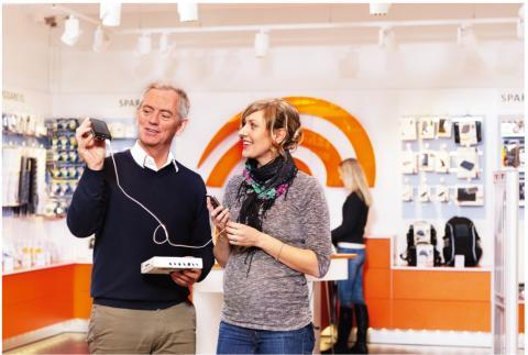 El i butik - en lysande affär