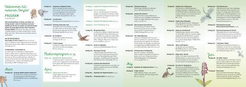 Naturum Skrylle, program för våren 2015