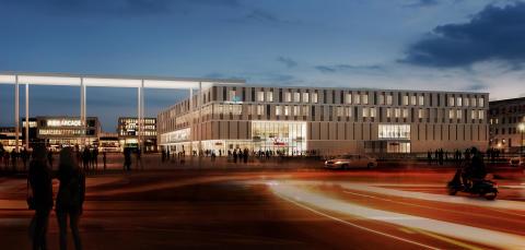 Neues Stadtquartier nimmt Gestalt an: ZÜBLIN übergibt Erweiterungsbau der Münchner Riem Arcaden