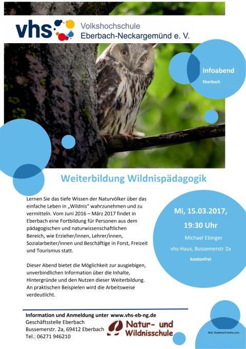 Wildnispädagogik Weiterbildung im Odenwald - Informationsabend
