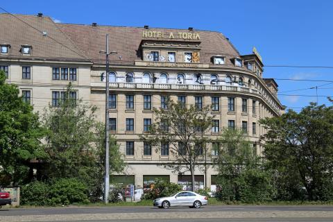 """Hotel """"Astoria"""" - Ansicht vom Promenadenring"""