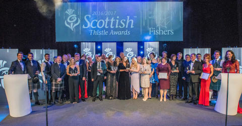 Winners of the Scottish Thistle Awards National Final 2016/17