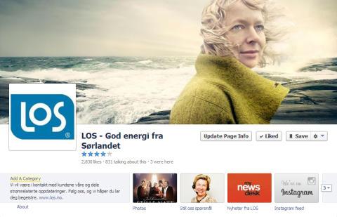 LOS på Facebook
