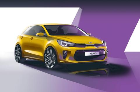 ​Verdenspremiere for nye Kia Rio i Paris.