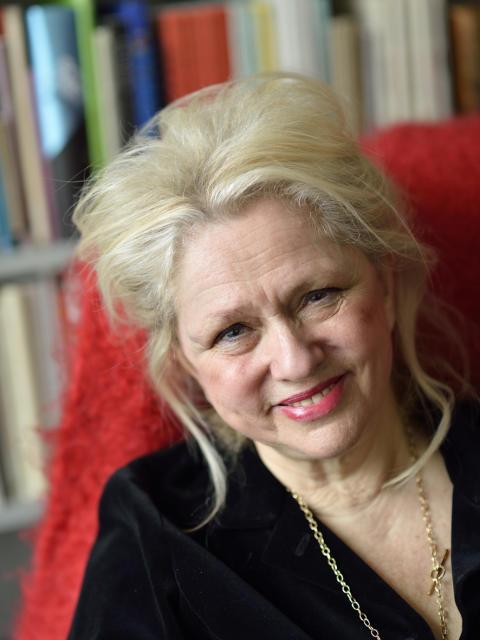 Högupplöst författarporträtt: Rose Lagercrantz (foto: Magnus Aronson)