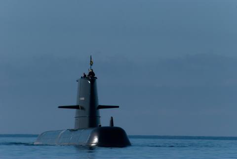 Ett unikt tillfälle att följa verifiering av tabeller för ubåtsräddning