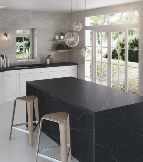 Silestone® Charcoal Soapstone_Kitchen