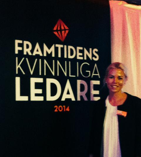 Futebol dá força grundare bland Framtidens kvinnliga ledare 2014