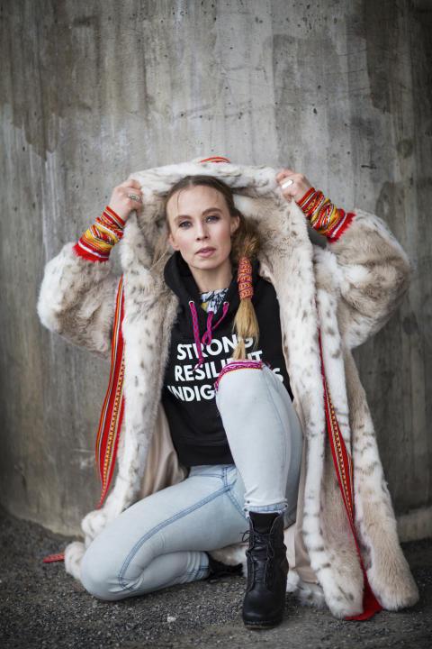 Sofia Jannok en av huvudakterna på Jokkmokks marknad
