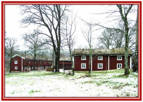 Julmarknad på Siggebohyttans Bergsmansgård