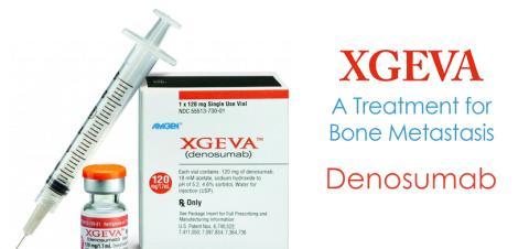 Patienter med multipelt myelom kan nu behandlas med Xgeva för att förebygga skelettkomplikationer