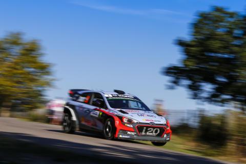 Hyundai Motorsport och Neuville säkrade andraplats i Tour de Corse