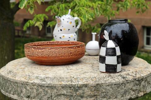Keramik für jeden Geldbeutel: Beim Keramikmarkt Leipzig im GRASSI findet jeder Topf seinen Deckel