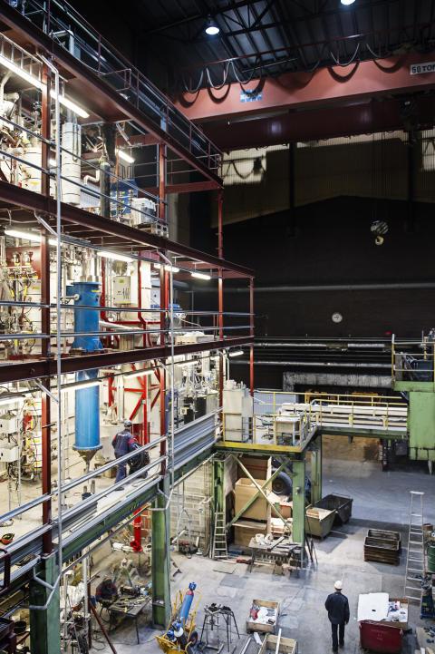 Pressinbjudan - Invigning av ny pilotanläggning där partiklar möter gas (måndag 17 juni)