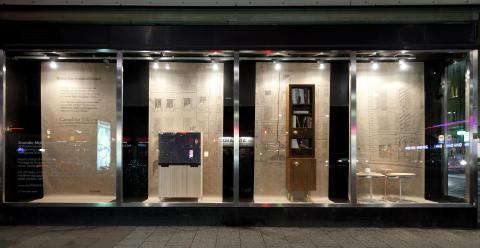 Caroline Olsson flyttar in i Scandic Malmens utställningsyta Svarta Lådan!