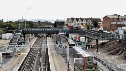 Accessibility transformation of Stechford station reaches major milestone