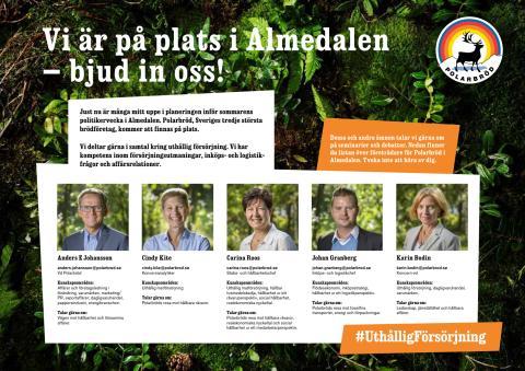 Polarbröd i Almedalen 2018 - Bjud in oss!