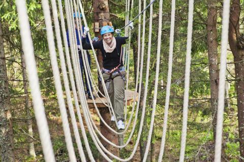 Oslo Sommerpark - klatrepark