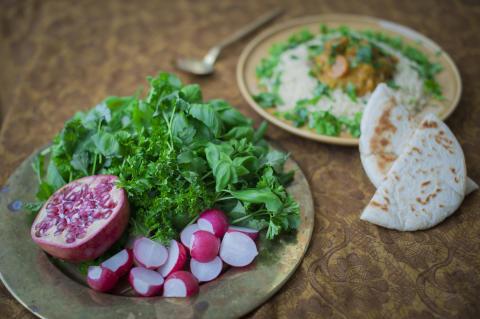 Örter som sallad kan ge bättre hälsa