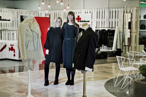 Pop up-butik på Arlanda