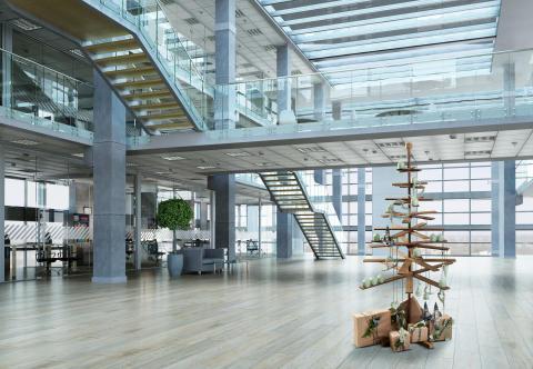 Habitree Weihnachtsbaum aus Kbony Holz
