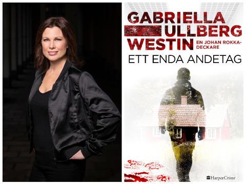 Bacillskräcken fick Gabriella Ullberg Westin att skriva deckaren Ett enda andetag – och sedan kom verkligheten ikapp fiktionen.