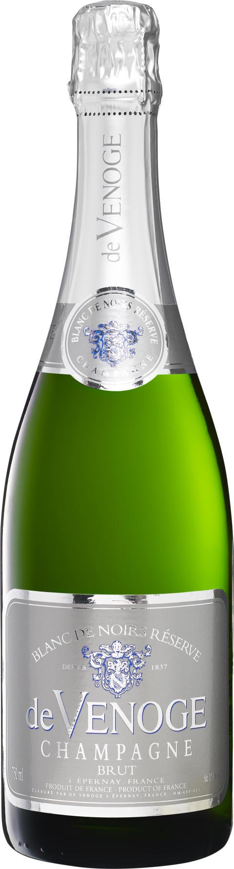 Champagne tolkas av ung designstjärna