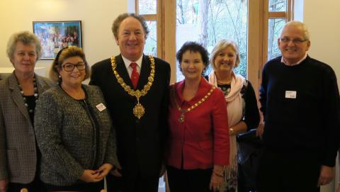 Mayor of Cambridge pays special visit to Acorn House